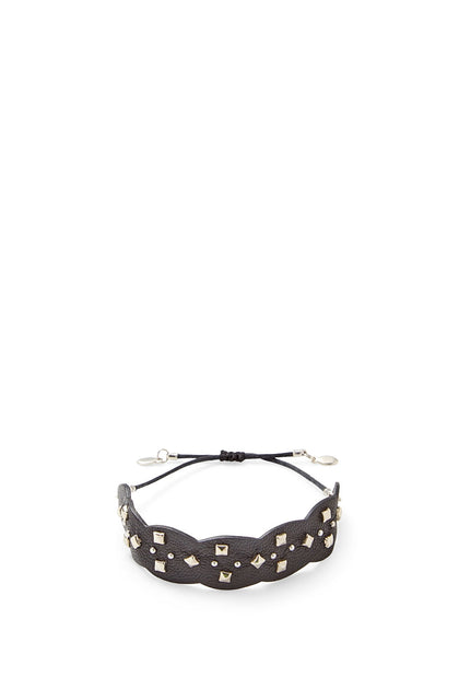 Studded Guitar Strap Pulley Bracelet