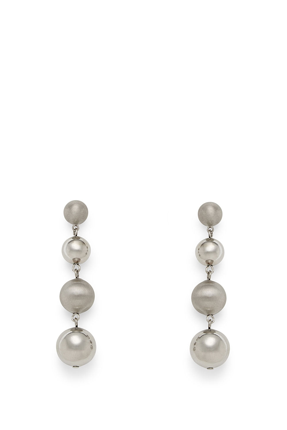Statement Sphere Drop Earring