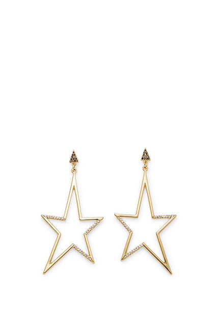 Stargazing Drama Star Statement Earring