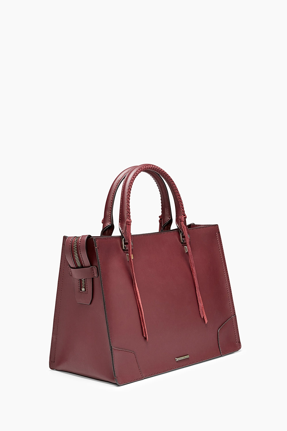 Stripe Regan Satchel Tote