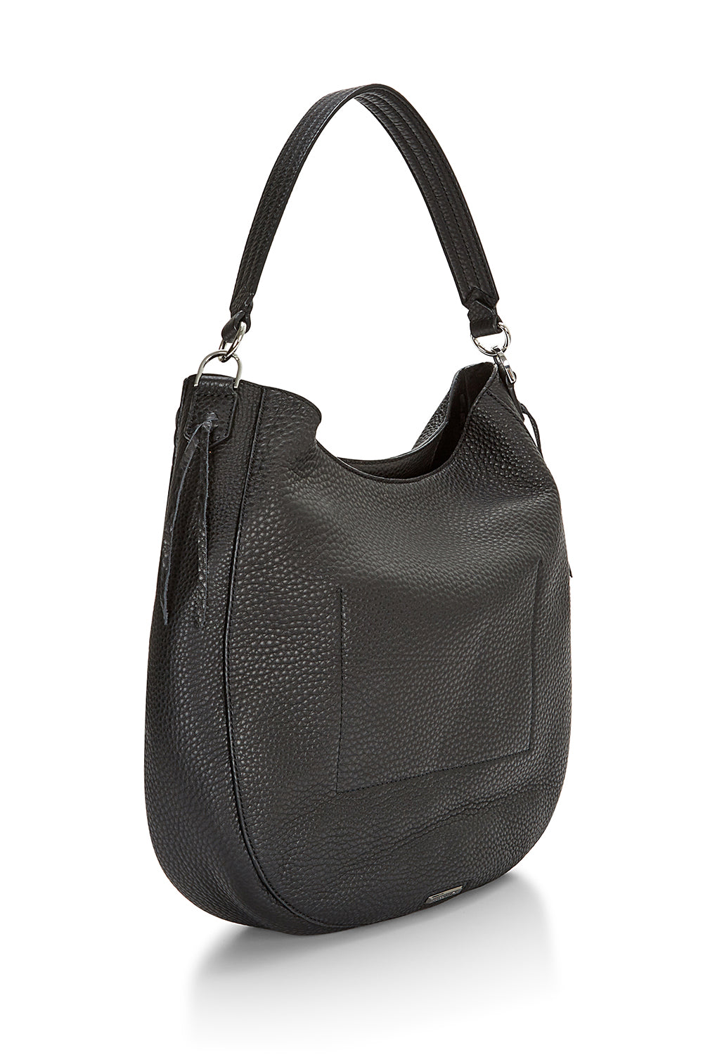 Unlined Convertible Hobo Whipstitch