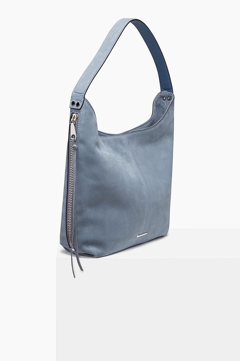 Medium Bryn Double Zip Hobo