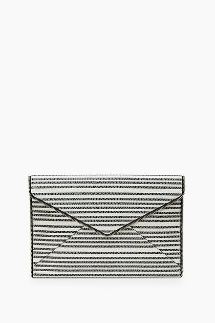 Striped Snake Leo Clutch