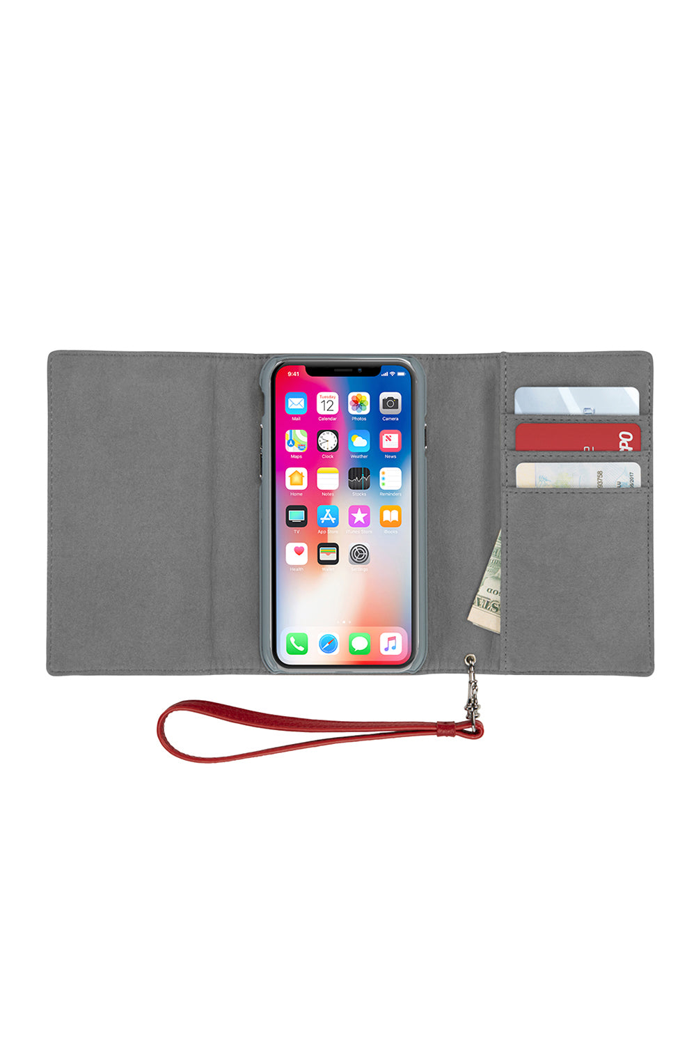 Love Lock Wristlet For iPhone XS & iPhone X