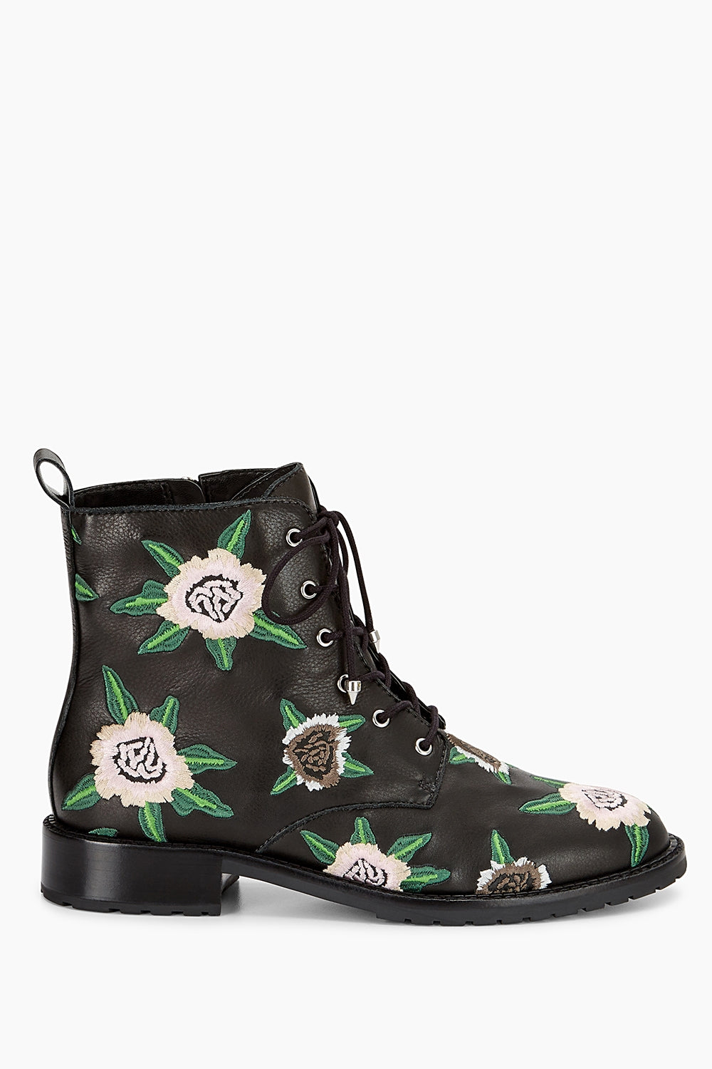 Rebecca Minkoff Gerry Embroidered Lace-Up Boot RN0XNEL