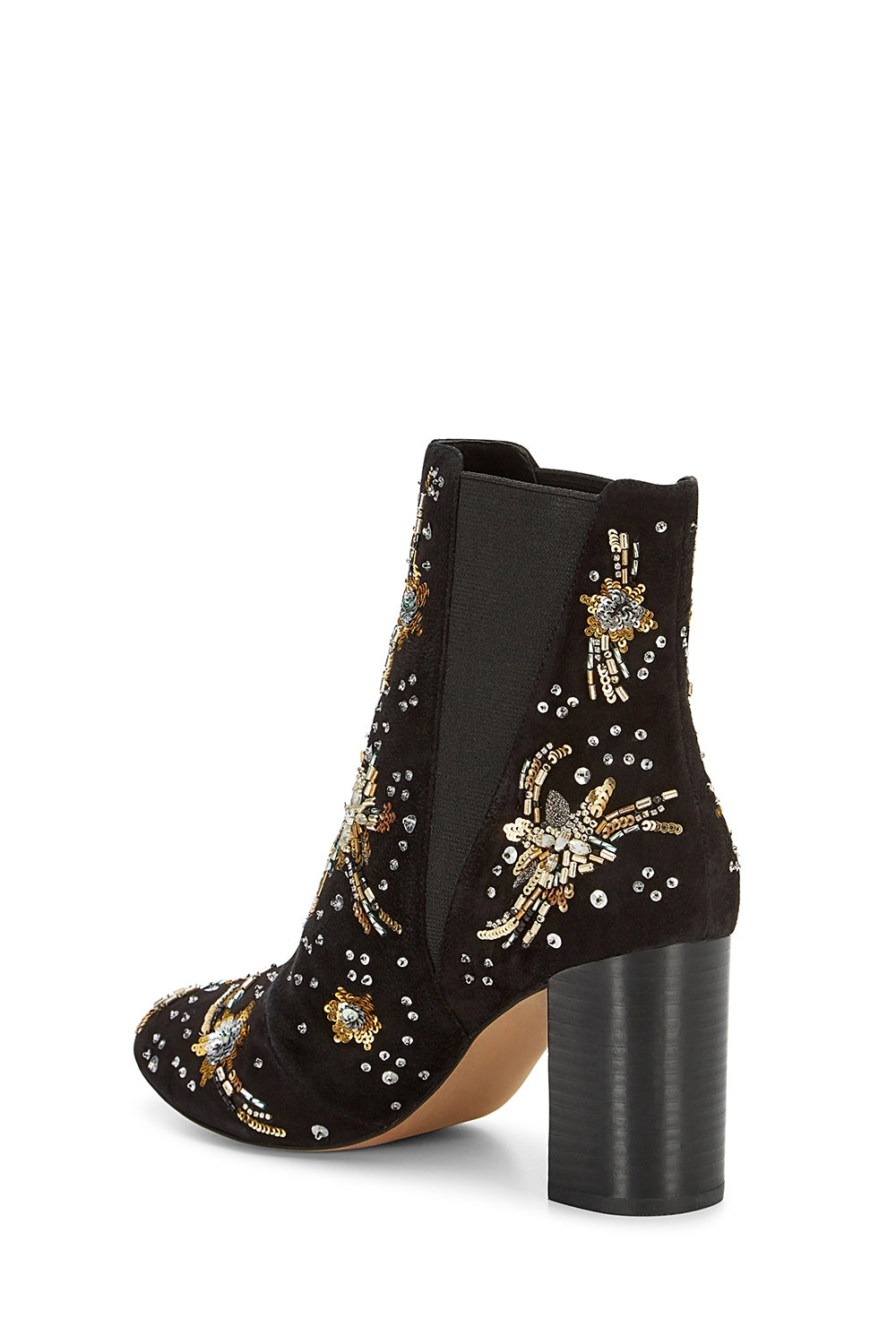 Serena Embroidery Bootie
