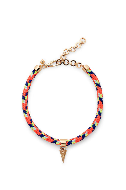 Climbing Rope Choker With Charm Drop