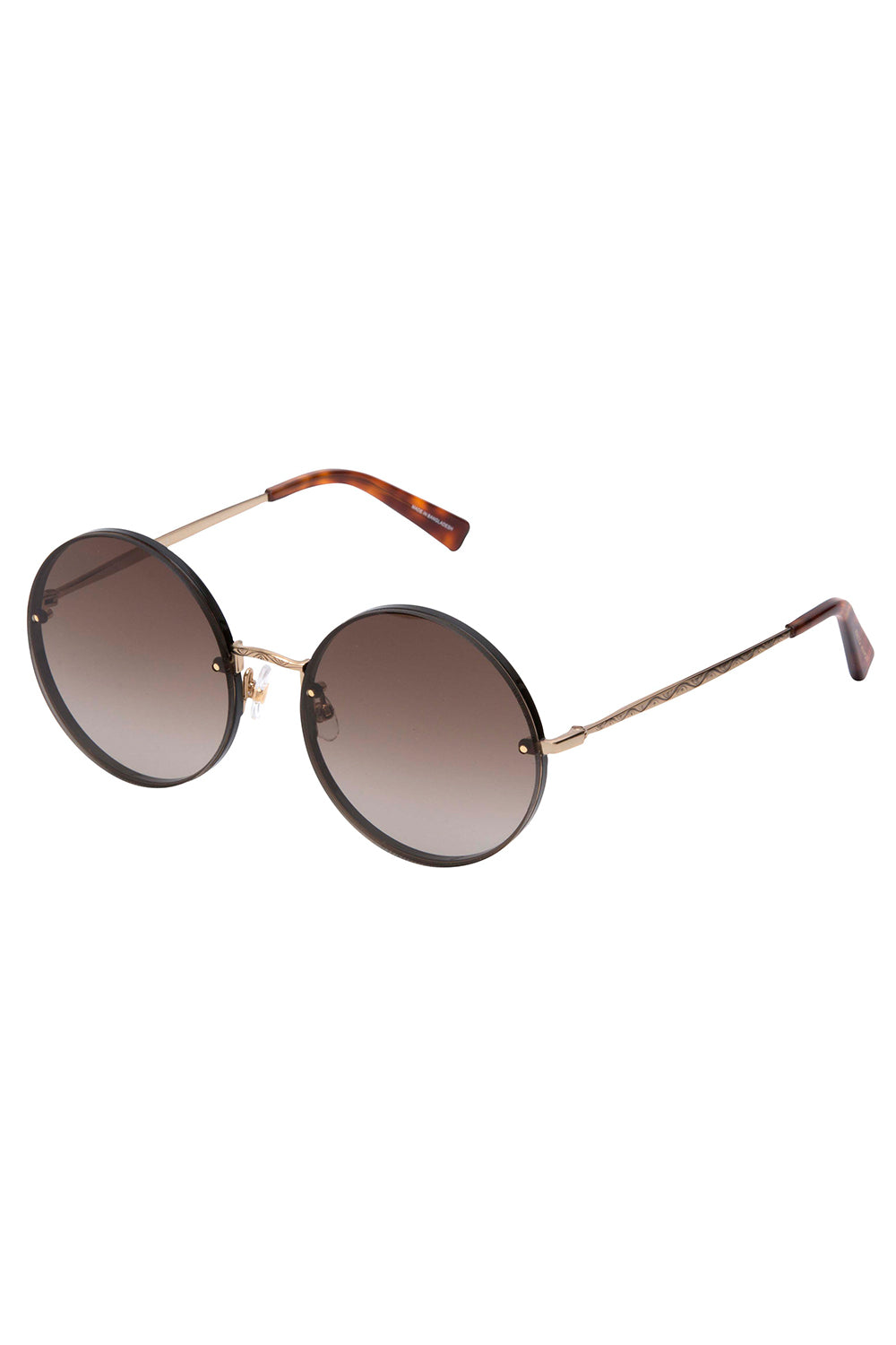 Gloria Round Sunglasses