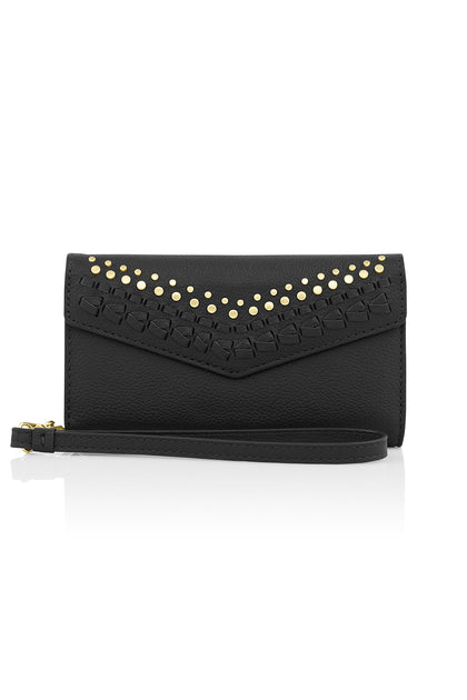 Studded Whipstitch Wristlet For iPhone 8 & iPhone 7