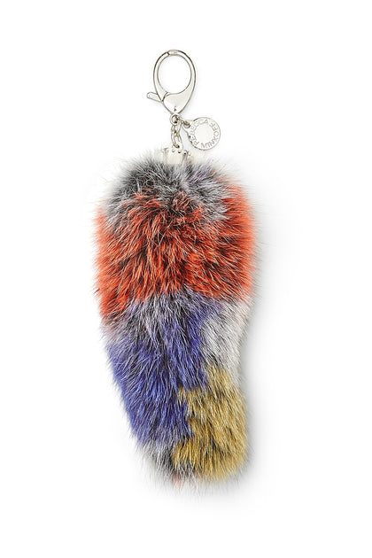 Fox Tail Bag Charm