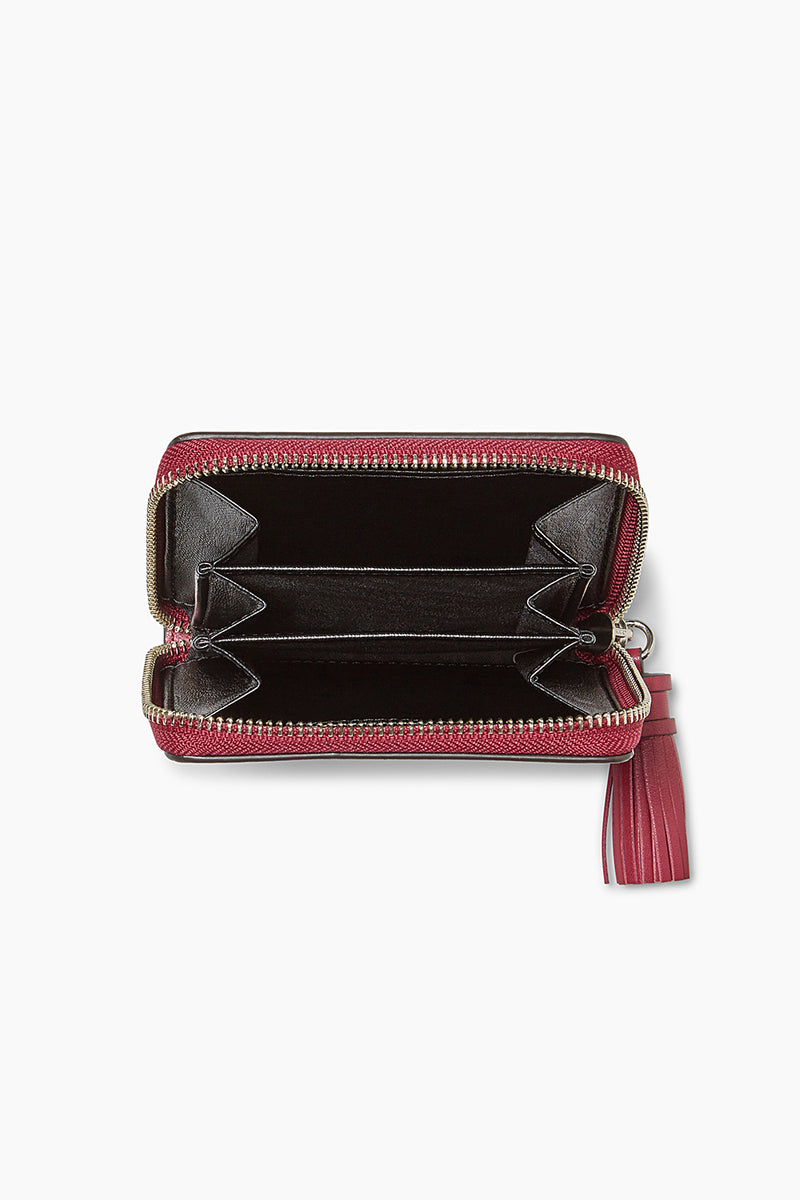 Mini Wallet With Tassel