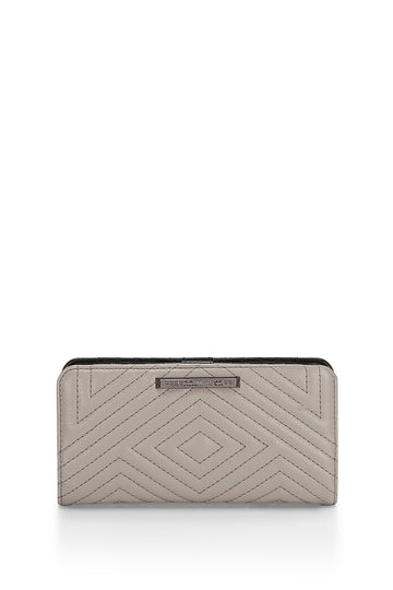 Geo Quilted Sophie Snap Wallet
