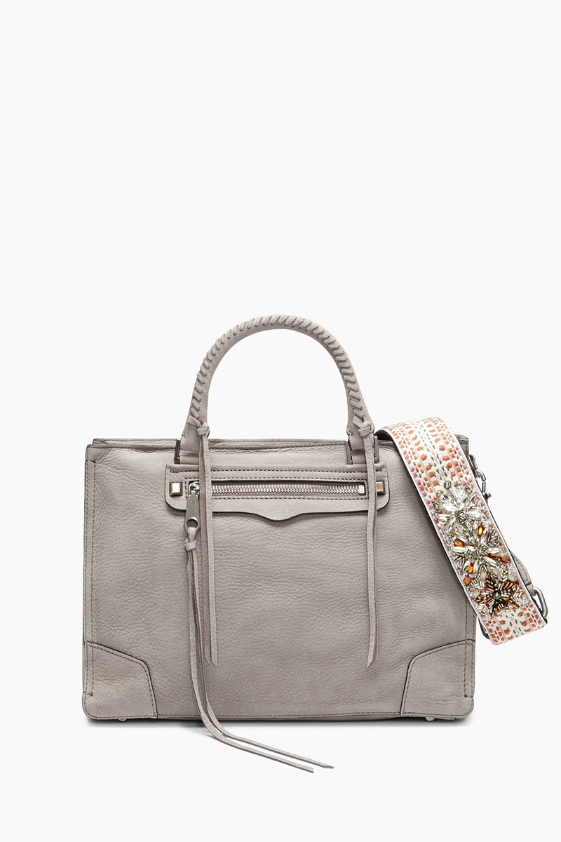 Regan Satchel Tote With Crystal Guitar Strap