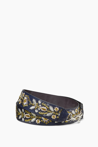 Metallic Embroidery Floral Guitar Strap 51528988243