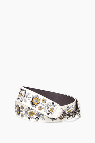 Metallic Embroidery Floral Guitar Strap 51529169235