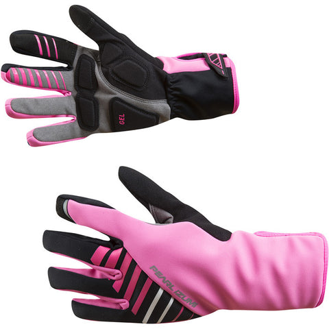 Women's, Elite Softshell Gel Glove, Screaming Pink