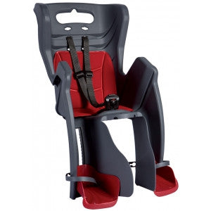 Bellelli Little Duck Rear Child Seat (Standard Multifix) in Dark Grey - Heswall, Wirral delivery/collection from shop