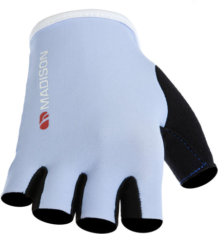 Track women's mitts, ice blue / white X-small