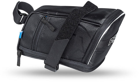 Maxi Plus Pro saddlebag with Velcro-style hook-and-loop strap