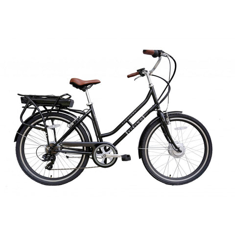 "Viking Downtown 36 Black, 26"" 6 Speed E-Bike"