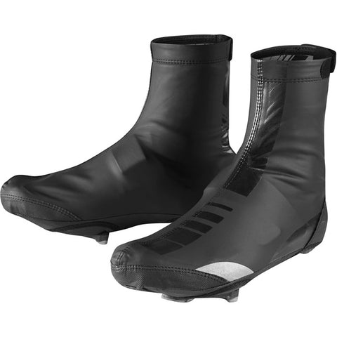 Sportive PU Thermal overshoes, black large