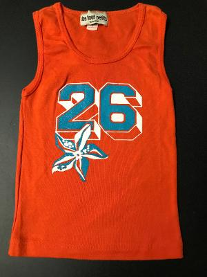 ORANGE #26 FITTED TANK TOP