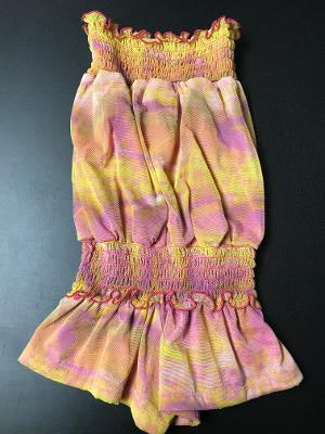 SMOCKED ROMPER SUNSET