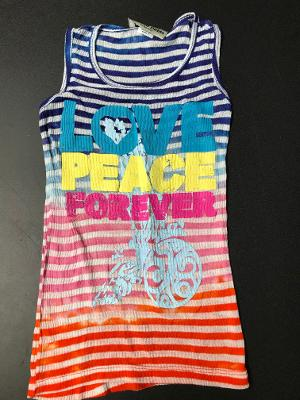 MULTI TD LOVE STRIPED TANK TOP