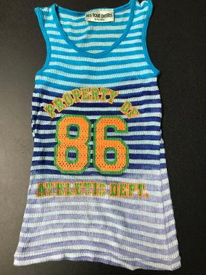 MULTI TD PROPERTY STRIPED TANK TOP
