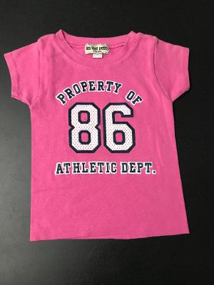 PINK PROPERTY S/S TOP