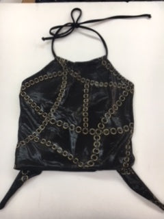 Chain Scarf Top