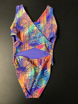 RAINBOW PALM CRISS CROSS BACK SUIT