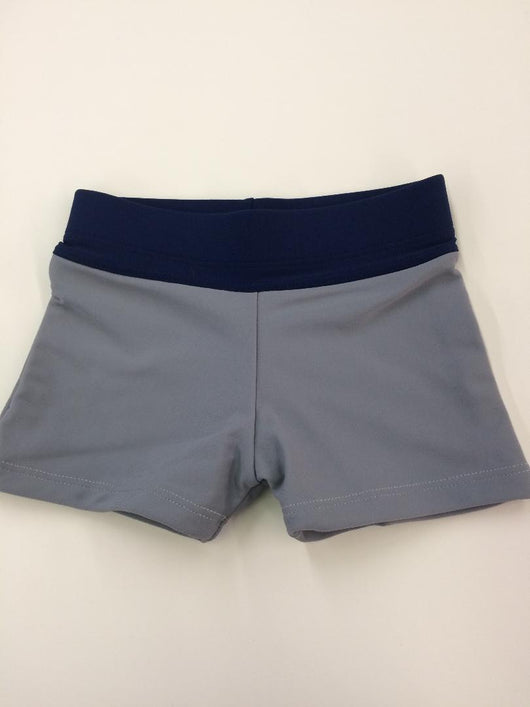 BOYS TODDLER SWIM TRUNK STEEL/NAVY