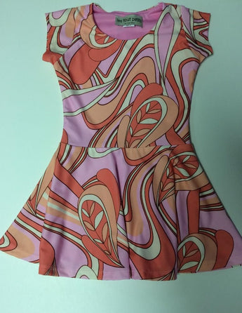 Pink Pucci Short Sleeve Skater Dress