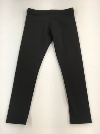 Black Cotton Lycra Legging