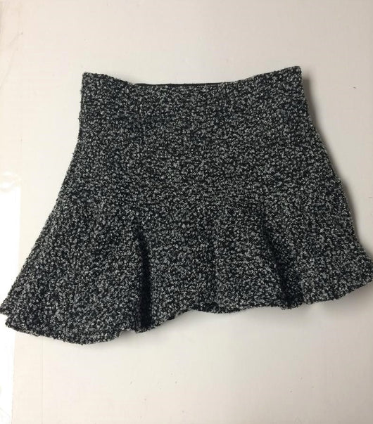 BOUCLE SWEATER KNIT ASSYM SKIRT