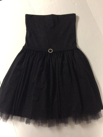 Black Sparkle Party Dress