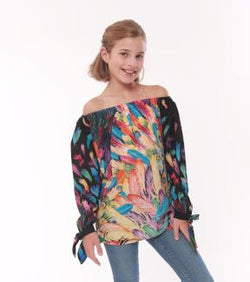 Feather Gigi Top