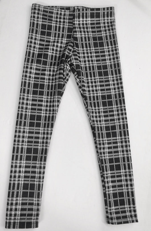 Check Plaid Leggings