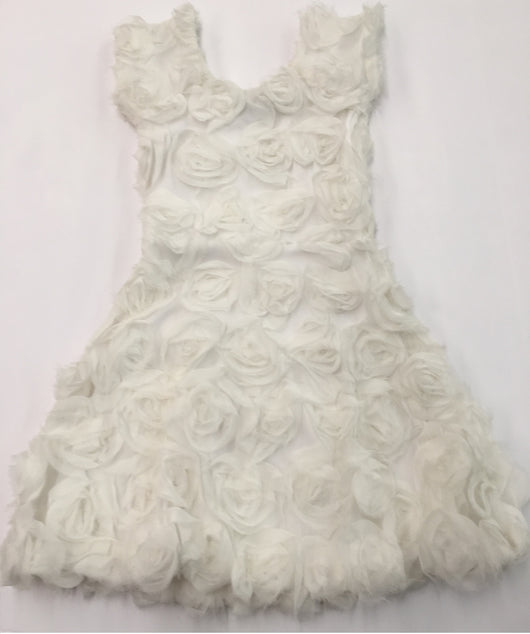 White Rose Valentina Dress