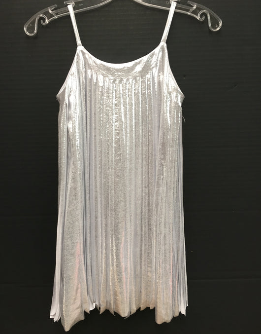 Silver Cut Fringe Dress