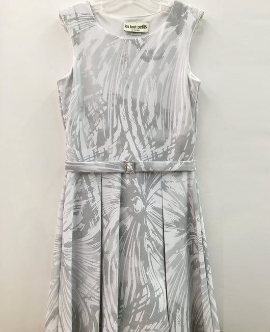 White Etch Adrianna Dress