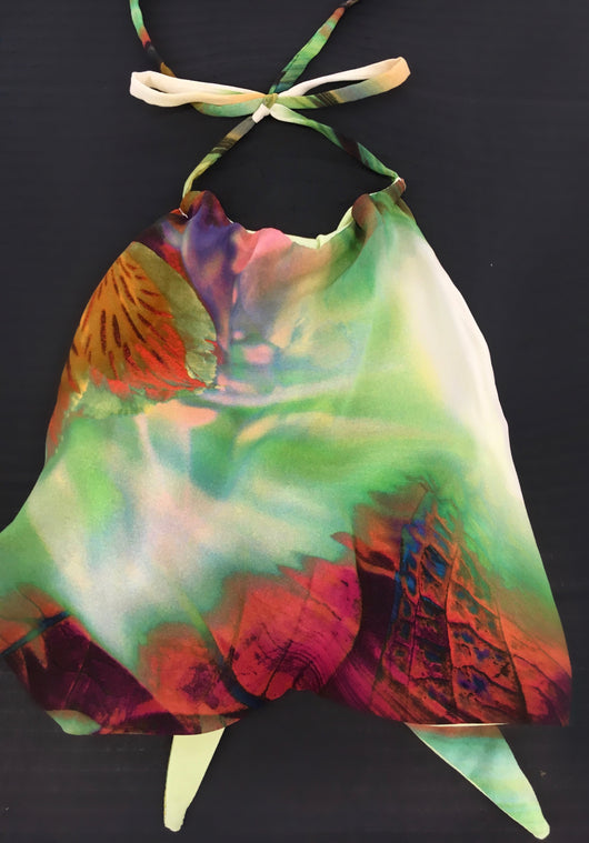 Palm Island Scarf Top