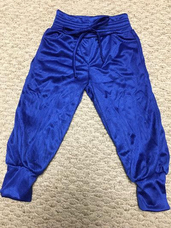 Track pocket pant royal mesh