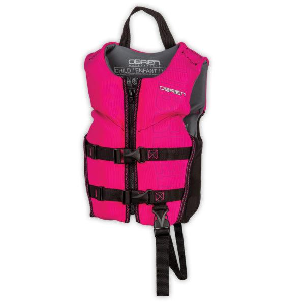 O'Brien Flex V Back Girl's Life Jacket
