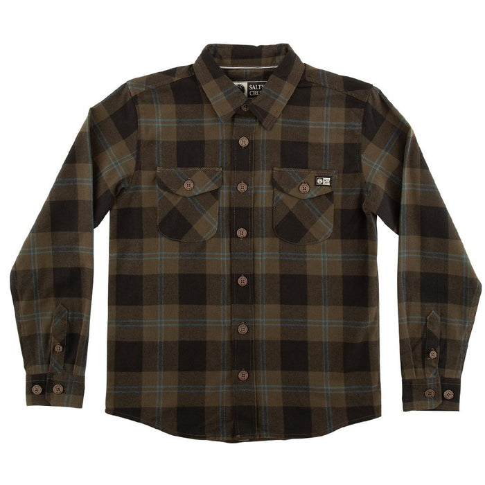 Salty Crew Inshore Flannel - 88 Gear