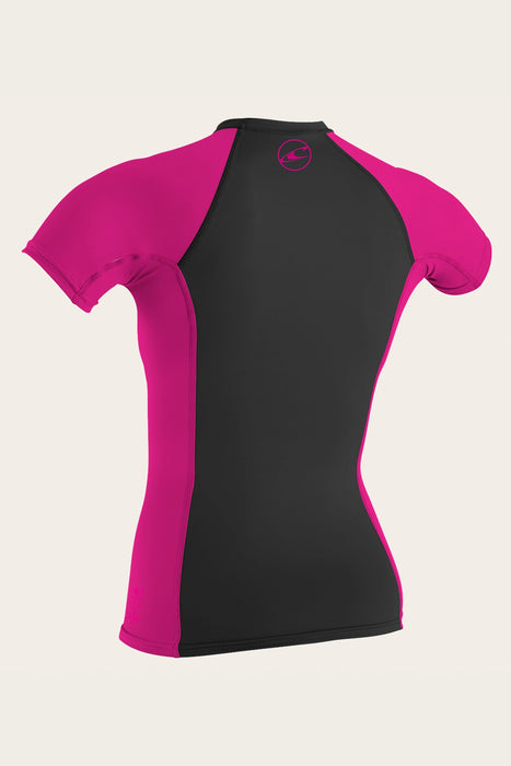 O'Neill Girls Short Sleeve Rash Guard - 88 Gear