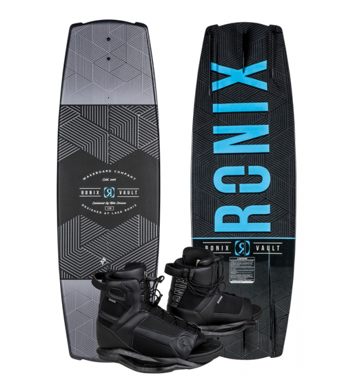 Ronix Vault Wakeboard and Boot Package 2019