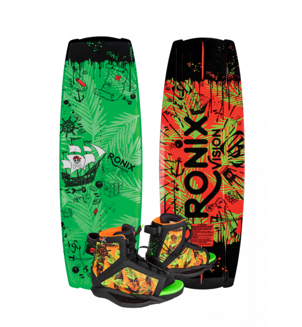 Ronix Vision Kid's Wakeboard Package 2019 - 88 Gear