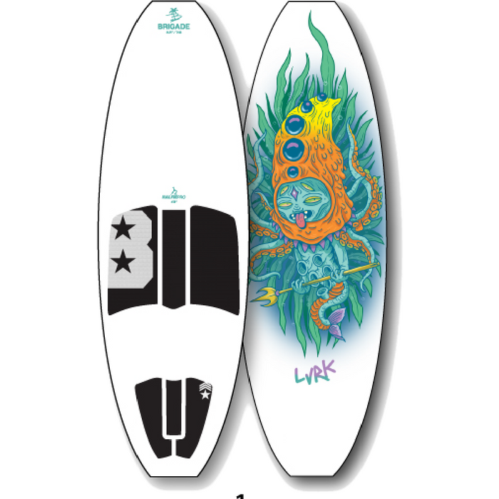 Limited Edition Wakesurf Board - 88 Gear